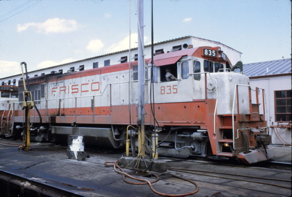 U30B 835 at Tennessee Yard (date unknown)