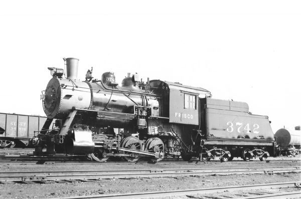 0-6-0 3742 at St. Louis, Missouri on September 2, 1938 (Arthur B. Johnson)