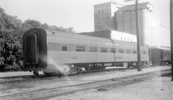 56 Seat Chair Car 1255 at Springfield, Missouri on October 25, 1959 (Arthur B. Johnson)