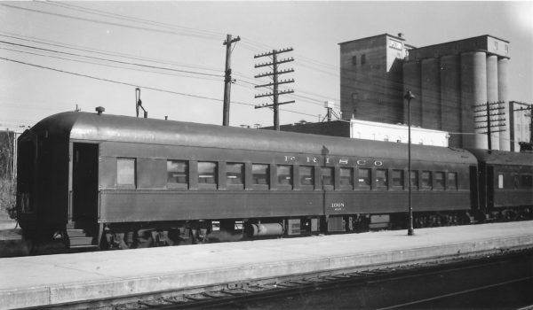 60 Seat Chair Car 1068 at Springfield, Missouri on November 13, 1966 (Arthur B. Johnson)