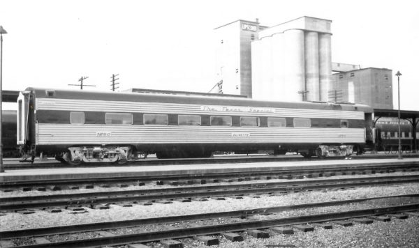 Chair Car 1250 (Texas Special) at Springfield, Missouri on April 12, 1948 (Arthur B. Johnson)