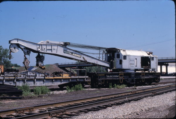 Crane 99021 at Tulsa, Oklahoma on May 24, 1980 (Allen Clum)