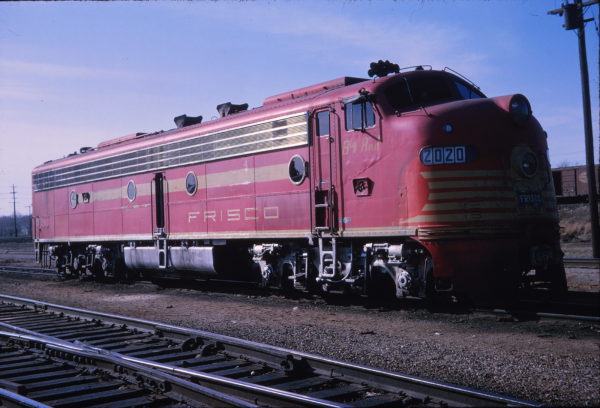 E8A 2020 (Big Red) at Springfield, Missouri in April 1966 (Stanley McCarthy)