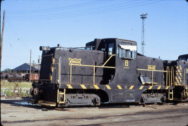 GE 44 Ton Switcher 8 at Tulsa, Oklahoma on June 20, 1972 (T. Chenoweth)