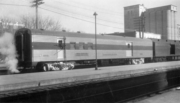 Railway Post Office 252 at Springfield, Missouri on January 31, 1960 (Arthur B. Johnson)