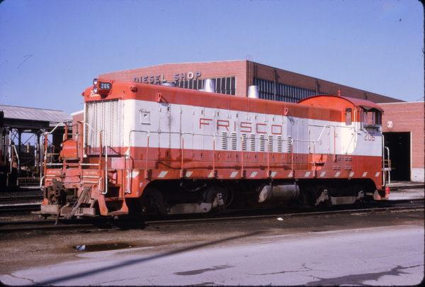 VO-1000m 206 at Springfield, Missouri on June 14, 1973