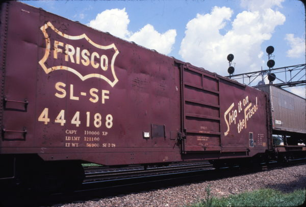 Boxcar 444188 (location unknown) on July 29, 1982