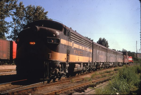FP7 50 at Kansas City, Missouri on September 4, 1968 (Al Chione)