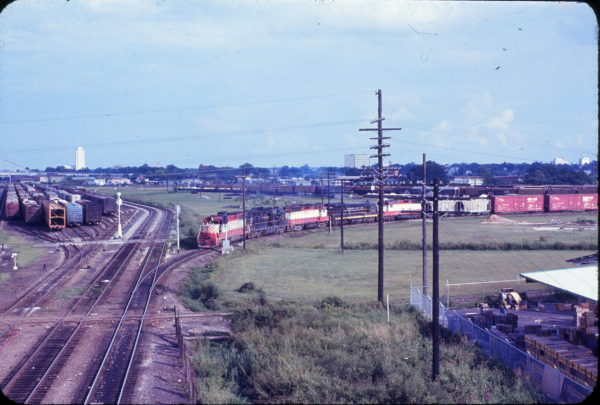 Jacksonville, Florida Yard in July 1971