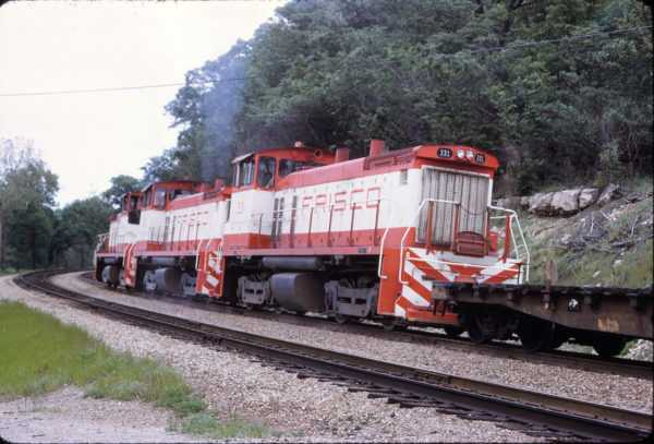 SW1500 331 at St. Louis, Missouri in May 1973
