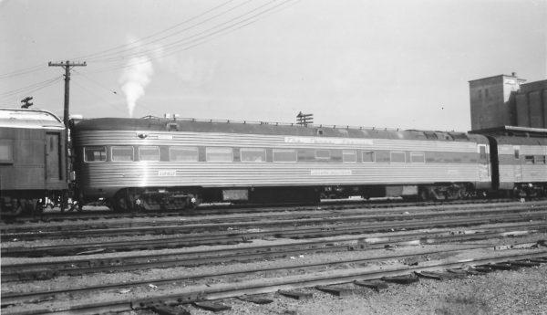 Sleeper-Observation Car 1350 (Texas Special) at Springfield, Missouri on December 13, 1964 (Arthur B. Johnson) (OOS 1958)