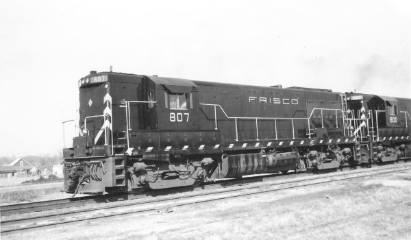 U25B 807 at Springfield, Missouri on February 10, 1962 (Arthur B. Johnson)