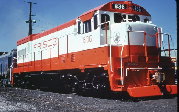 U30B 836 at Erie, Pennsylvania in August 1969