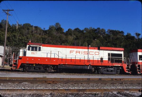 B30-7 867 at Kansas City, Missouri on September 14, 1980 (James F. Primm II)