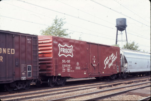 Boxcar 13230 at North Elizabeth, New Jersey on September 25, 1976