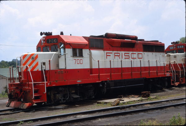 GP35 700 (location unknown) on June 16, 1970