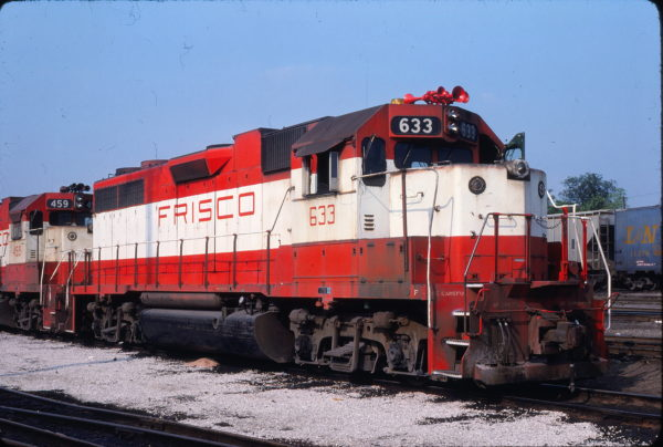GP38AC 633 at St. Louis, Missouri on May 25, 1980 (Allen Clum)