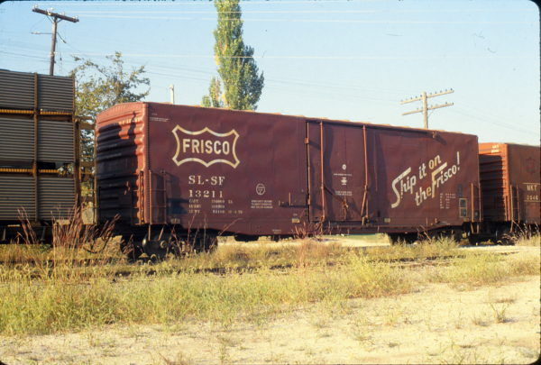 Boxcar 13211 at Jefferson City, Missouri in September 1979