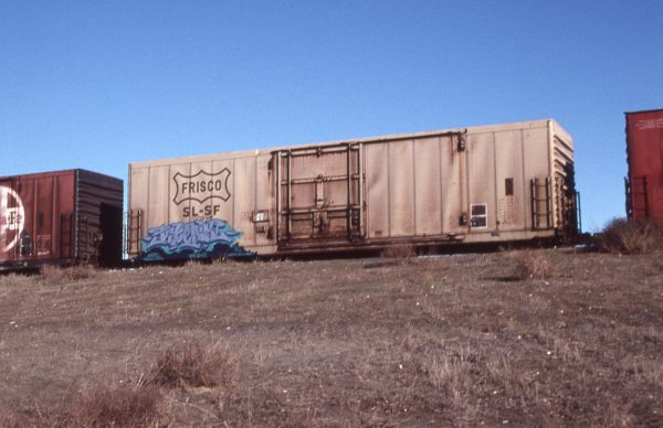 Boxcar 700201 at Pasco, Washington on January 23, 1997 (R.R. Taylor)