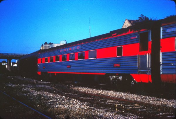 Coach 1252 (Baden) at Springfield, Missouri (date unknown) (Mike Condren)