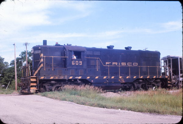 GP7 609 at Olathe, Kansas in June 1967