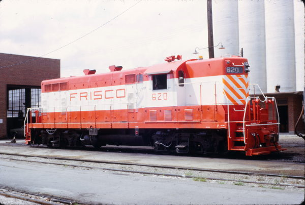 GP7 620 at Wichita, Kansas in September 1971