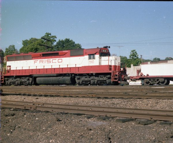 SD45 910 at Thayer, Missouri on June 11, 1979 (R.R. Taylor)