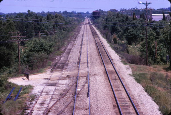 Holly Springs, Mississippi Tours Siding in June 1974 (C.P. Ayers)