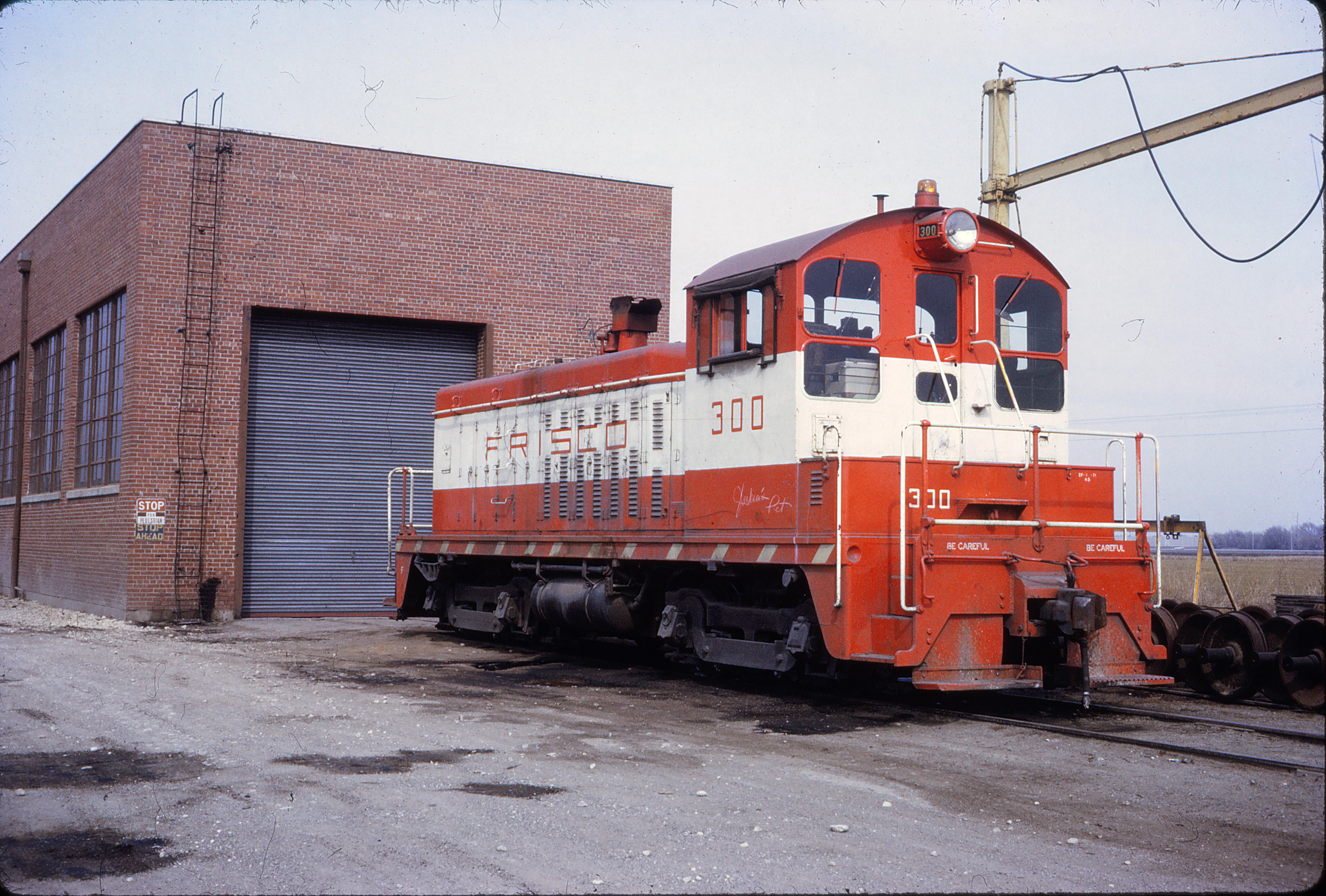 SW7 300 at Wichita, Kansas in March 1972