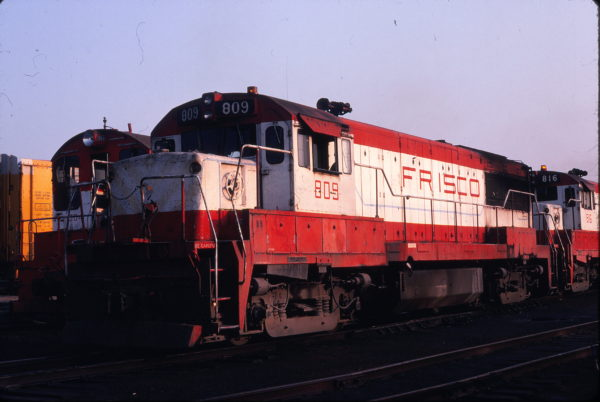 U25B 809 at St. Louis, Missouri (date unknown) (Michael Wise)