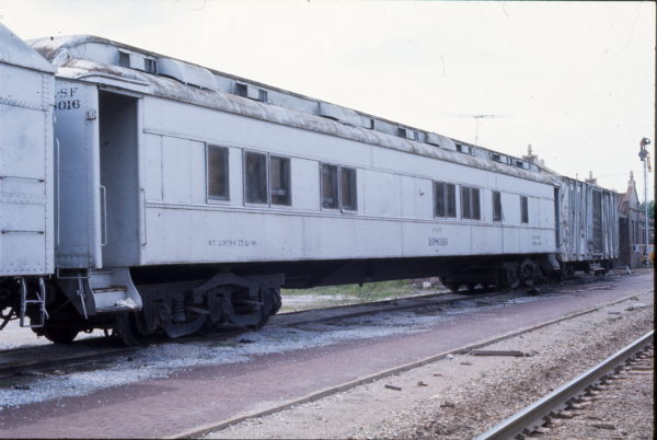 Work Car 108016 (date and location unknown)