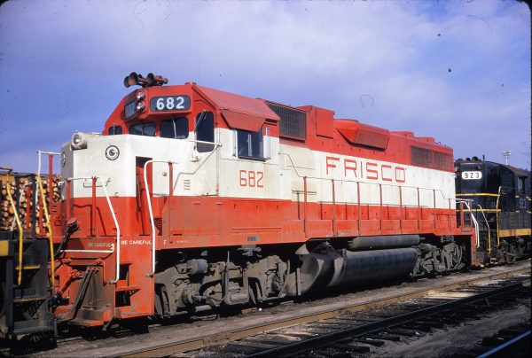 GP38-2 682 at Raleigh, North Carolina on February 4, 1973