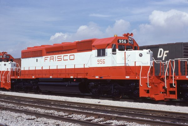 SD40-2 956 at Chicago, Illinois in July 1978 (J.W. Stubblefield)