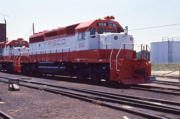 SD40-2 956 at St. Louis, Missouri on July 29, 1978
