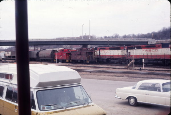 SD45 901, Caboose 1271 and Caboose 1268 (date and location unknown)