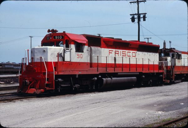 SD45 910 at Kansas City, Missouri on June 4, 1978 (Dean Motis)