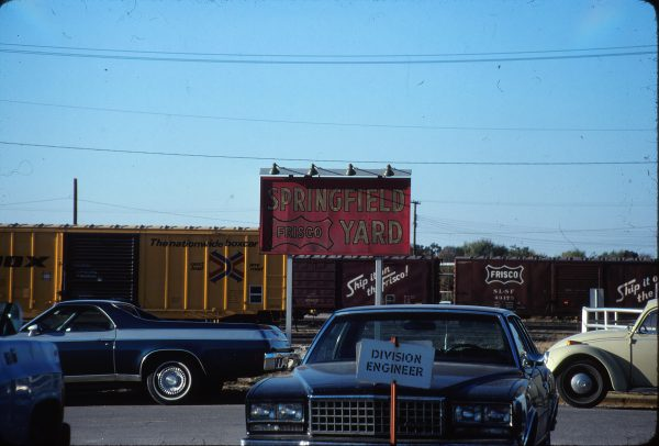 Springfield Yard, Springfield, Missouri on October 8, 1980