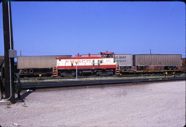 SW1500 357 (location unknown) in May 1974