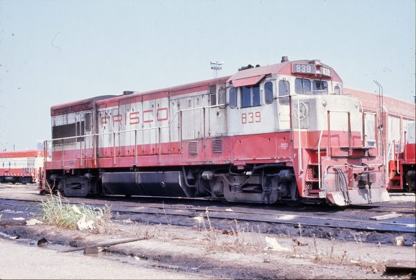 U30B 839 Tulsa, Oklahoma in September 1972
