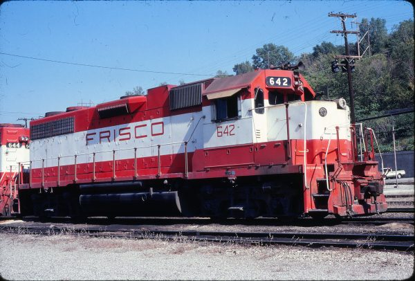 GP38AC 642 at Kansas City, Missouri on September 30, 1980 (Jim Wilson)