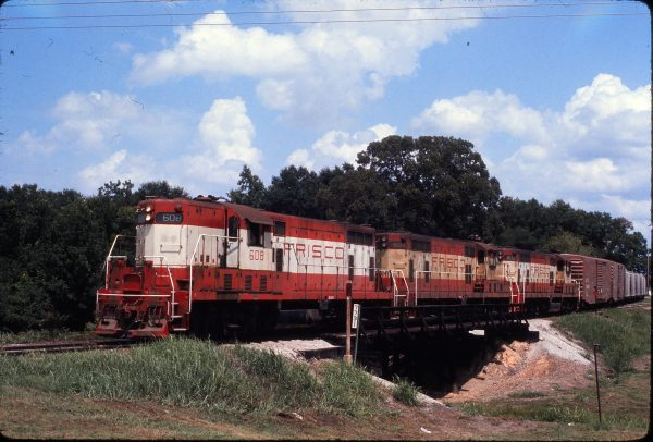 GP7s 608, 604 and 602 (location unknown) on August 6, 1974