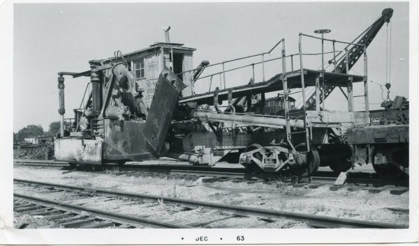 Ditcher Car 99101 at Springfield, Missouri (date unknown)