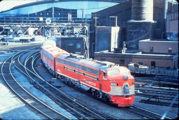 E8A 2020 (Big Red) at St. Louis, Missouri (date unknown)