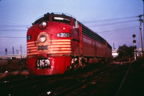 E8As 2012 (Flying Ebony) and 2015 (Twenty Grand) on the last run of the Meteor at St. Louis, Missouri on September 15, 1965