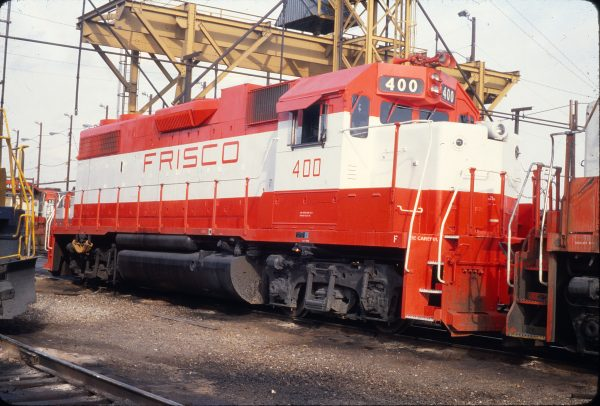 GP38-2 400 (location unknown) in February 1980