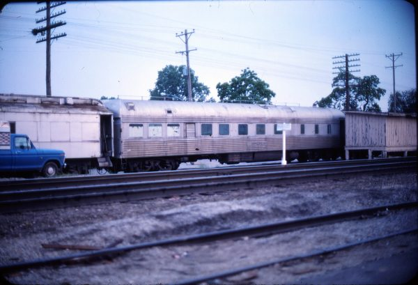 Work Car 108201 (location unknown) in June 1976