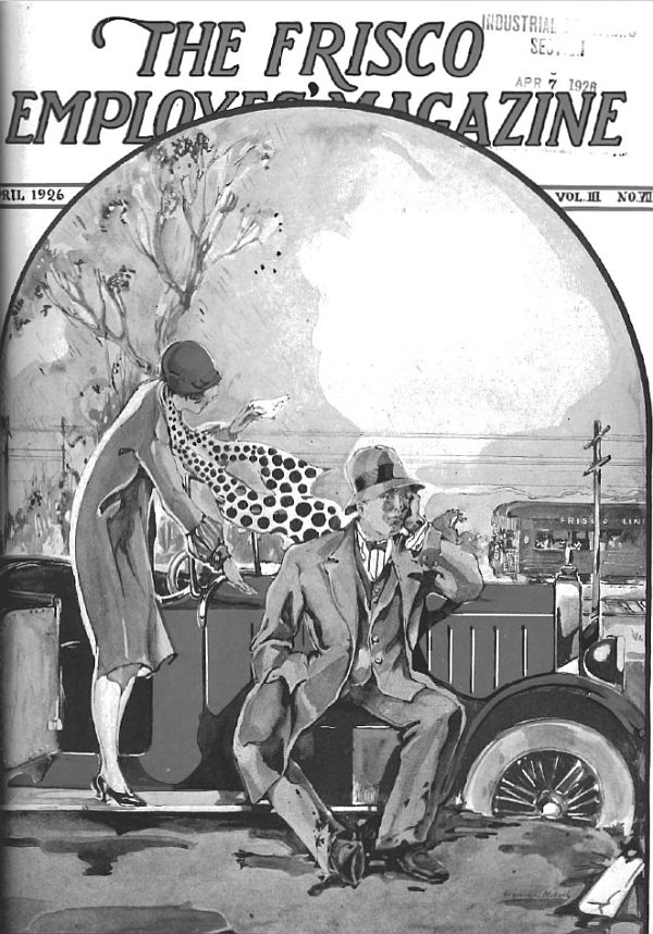 Frisco Employes' Magazine - April 1926