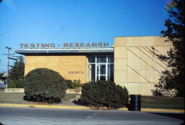 Testing-Research Building at Springfield, Missouri on October 8, 1980