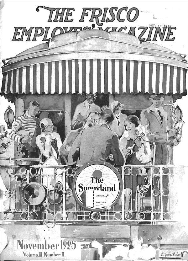 Frisco Employes' Magazine - November 1925