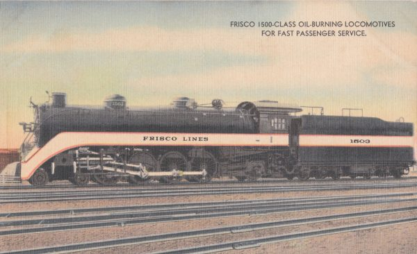 4-8-2 1503 (Postcard)
